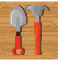 Construction repair tools graphic vector image vector image