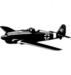 Focke-Wulf vector image vector image