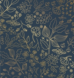 GOLD FOIL SHINY PATTERN vector image
