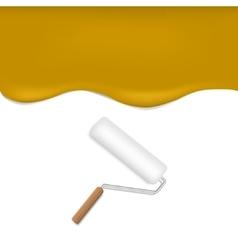 Orange paint background vector image