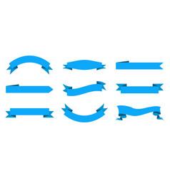 ribbon and banner design label for sale vintage vector image