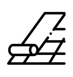 Robitumen shingle icon outline vector