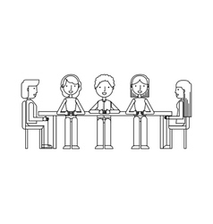 training concept flat icons vector image vector image