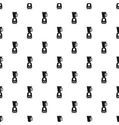 Kitchen blender machine pattern simple style vector