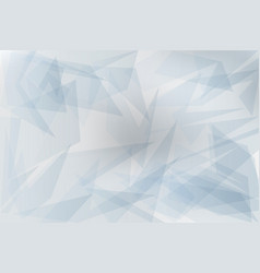 abstract grey transparent geometric background vector image
