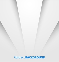 Abstract white paper background with shadow vector