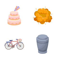 Cooking transport and other web icon in cartoon vector