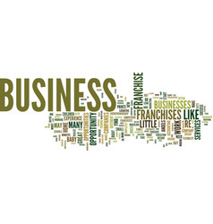 Find a business opportunity right for you text vector