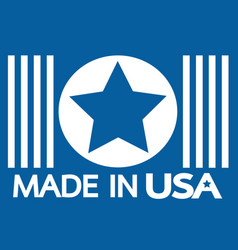 made in the usa vector image