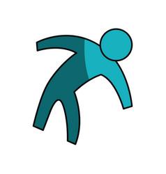 Man pictogram symbol vector