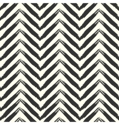 Seamless grunge pattern Brush strokes texture vector image