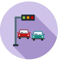 Traffic signals vector