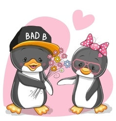 Two Penguins vector