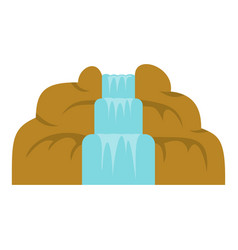 Waterfall icon isolated vector