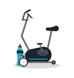 Weight and healthy lifestyle design vector