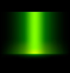 Green Light from Top Background vector image vector image