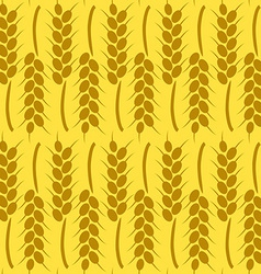 Harvest Background for Autumn Seamless Pattern vector image