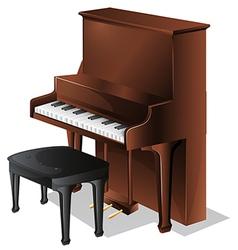 A piano vector