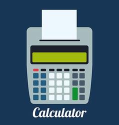 Calculator design vector