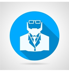 Flat icon for medicine Doctor vector image