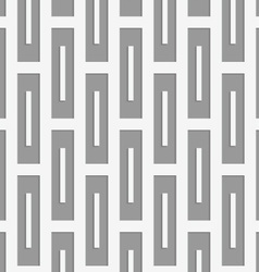 Perforated rectangles vector