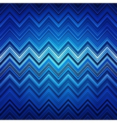 Abstract blue white and black zig-zag warped vector image vector image