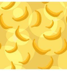 bananas background vector image vector image