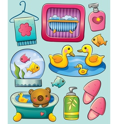 Toiletry vector image