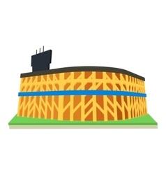 Stadium icon cartoon style vector