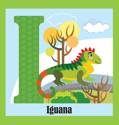 Animal alphabet i vector