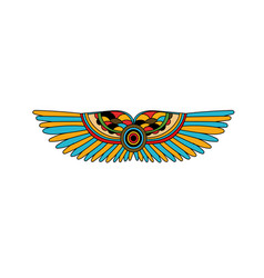 Art tattoo picture wings vector