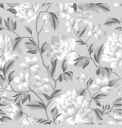 Floral seamless pattern flourish garden vector