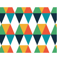 Geometric color background hipster background with vector