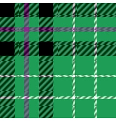 Hibernian fc tartan fabric textile check pattern vector