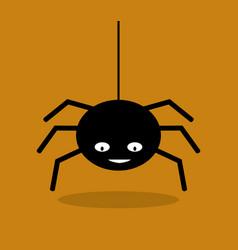spider icon vector image
