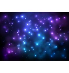 Universe background for presentation design vector