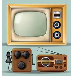 Vintage Electronics vector