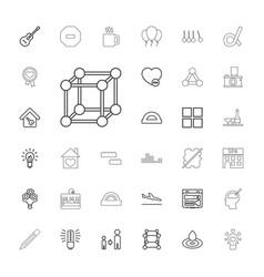 33 creative icons vector