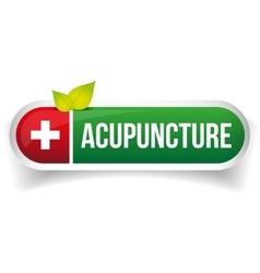 Acupuncture logo vector