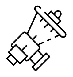 Car transmission box icon outline style vector