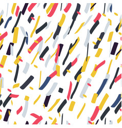 colorful seamless stylish pattern - repeatable vector image