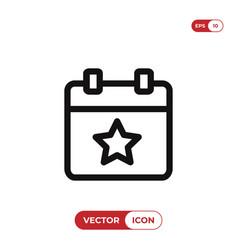 event icon vector image