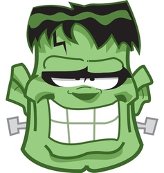 Frankenstein Head vector image