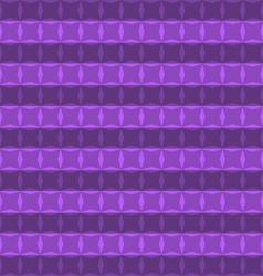 Pattern geometric purple color vector