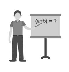 Teacher Teaching vector