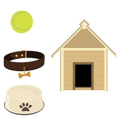 Dog set vector