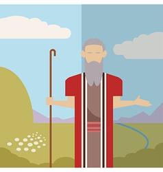 Judaism icon 2 vector image