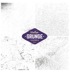 Grunge textures set vector