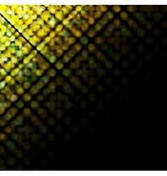 Bright sparkling circles vector image vector image