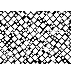 Black and white seamless pattern with squares vector
